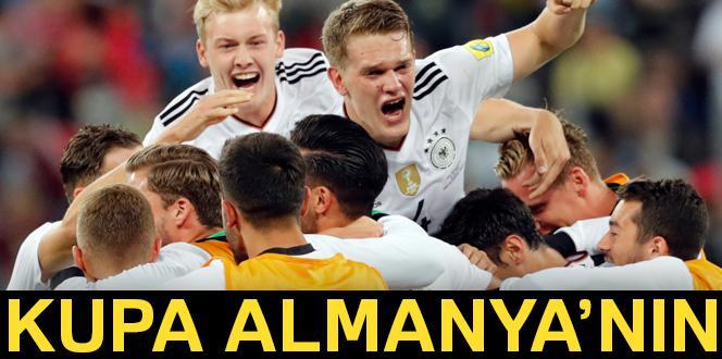 Almanya 1-0 Şili FIFA Konfederasyonlar Kupası şampiyonu kim oldu?