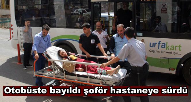 Sıcaktan bayılan yolcuyu otobüsle hastaneye getirdi