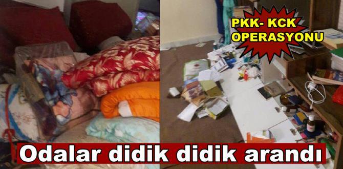 Şanlıurfa'da PKK- KCK operasyonu