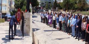 CHP'NİN 94'ÜNCÜ KURULUŞ YILDÖNÜMÜ TÖRENLE KUTLANDI