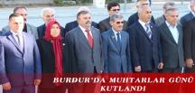BURDUR'DA MUHTARLAR GÜNÜ KUTLANDI