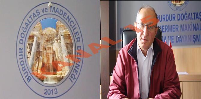 BURDUR'DA YILIN İLK 9 AYINDA 108 MİLYON LİRALIK DOĞALTAŞ İHRACATI YAPILDI