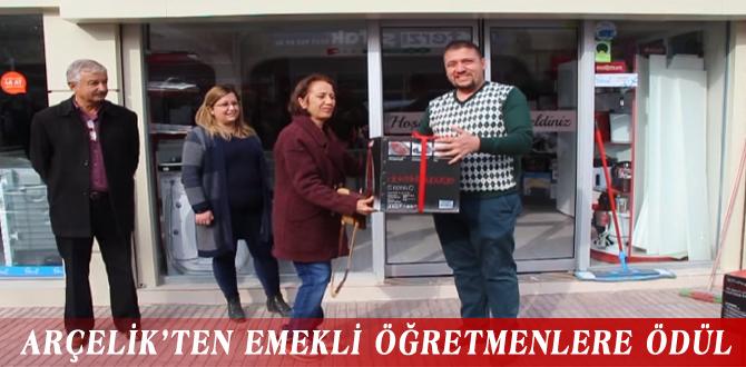 ARÇELİK'TEN EMEKLİ ÖĞRETMENLERE ÖDÜL
