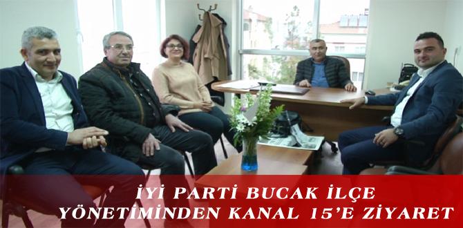 İYİ PARTİ BUCAK İLÇE YÖNETİMİNDEN KANAL 15'E ZİYARET
