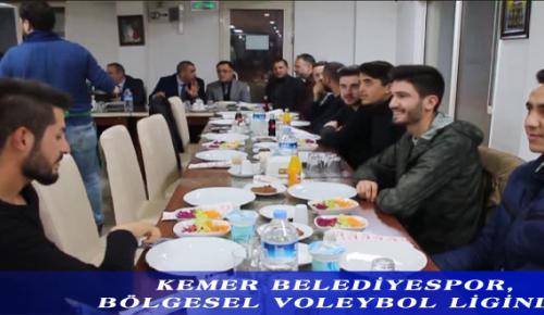 KEMER BELEDİYESPOR, BÖLGESEL VOLEYBOL LİGİ'NDE