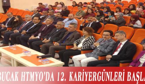 BUCAK HTMYO'DA 12. KARİYER GÜNLERİ BAŞLADI