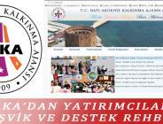 BAKA'DAN YATIRIMCILARA TEŞVİK VE DESTEK REHBERİ