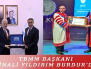TBMM BAŞKANI BİNALİ YILDIRIM BURDUR'DA