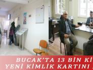 BUCAK'TA 13 BİN KİŞİ YENİ KİMLİK KARTINI ALDI
