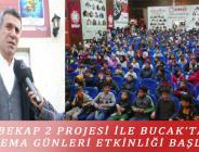 BEKAP 2 PROJESİ İLE BUCAK'TA SİNEMA GÜNLERİ ETKİNLİĞİ BAŞLADI
