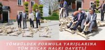 TÖMBÜLDEK FORMULA YARIŞLARINA TÜM BUCAK HALKI DAVETLİ