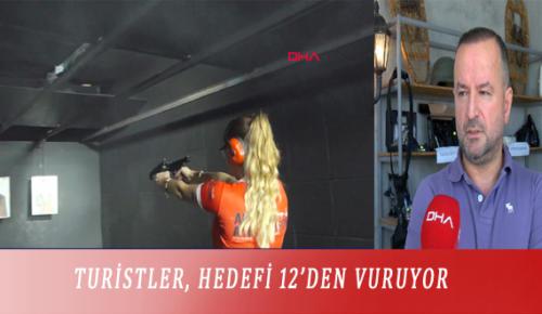 TURİSTLER, HEDEFİ 12'DEN VURUYOR