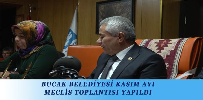 BUCAK BELEDİYESİ KASIM AYI MECLİS TOPLANTISI YAPILDI