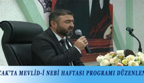 BUCAK'TA MEVLİD-İ NEBİ HAFTASI PROGRAMI DÜZENLENDİ