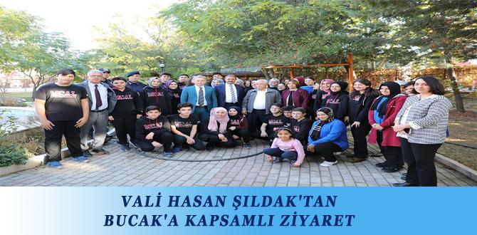VALİ HASAN ŞILDAK'TAN BUCAK'A KAPSAMLI ZİYARET