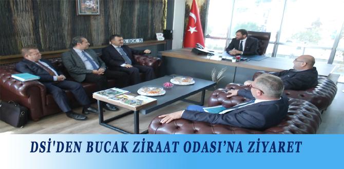 DSİ'DEN BUCAK ZİRAAT ODASI'NA ZİYARET