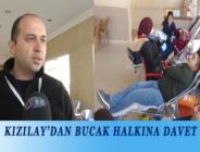KIZILAY'DAN BUCAK HALKINA DAVET