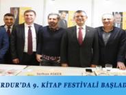 BURDUR'DA 9. KİTAP FESTİVALİ BAŞLADI