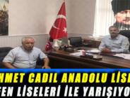 MEHMET CADIL ANADOLU LİSESİ, FEN LİSELERİ İLE YARIŞIYOR