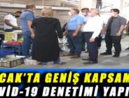 BUCAK'TA GENİŞ KAPSAMDA COVİD-19 DENETİMİ YAPILDI