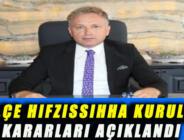 İLÇE HIFZISSIHHA KURULU KARARLARI AÇIKLANDI