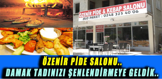 ÖZENİR PİDE SALONU..