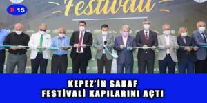 KEPEZ'İN SAHAF FESTİVALİ KAPILARINI AÇTI