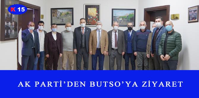 AK PARTİ'DEN BUTSO'YA ZİYARET