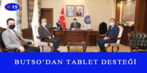 BUTSO'DAN TABLET DESTEĞİ