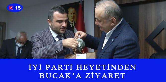 İYİ PARTİ HEYETİNDEN BUCAK'A ZİYARET