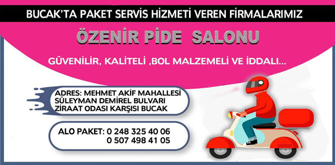 BUCAK PAKET SERVİSLER