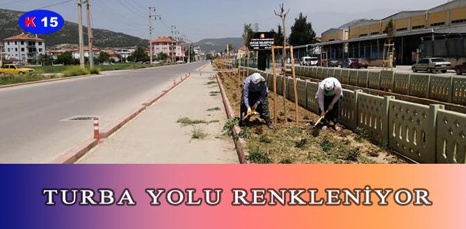TURBA YOLU RENKLENİYOR