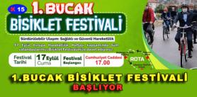 1.BUCAK BİSİKLET FESTİVALİ BAŞLIYOR