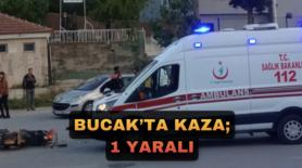 BUCAK'TA KAZA; 1 YARALI